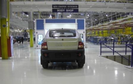 Устройство полов в автомобильной промышленности