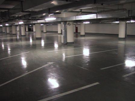 Устройство полов в паркингах